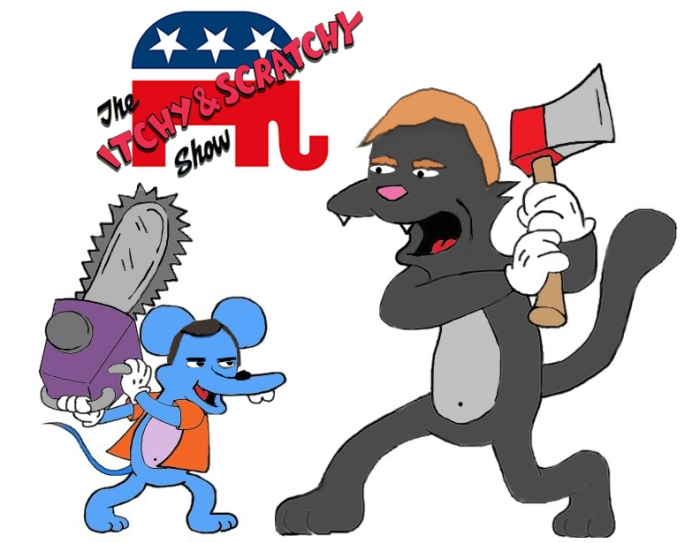 itchy and scratchy gop